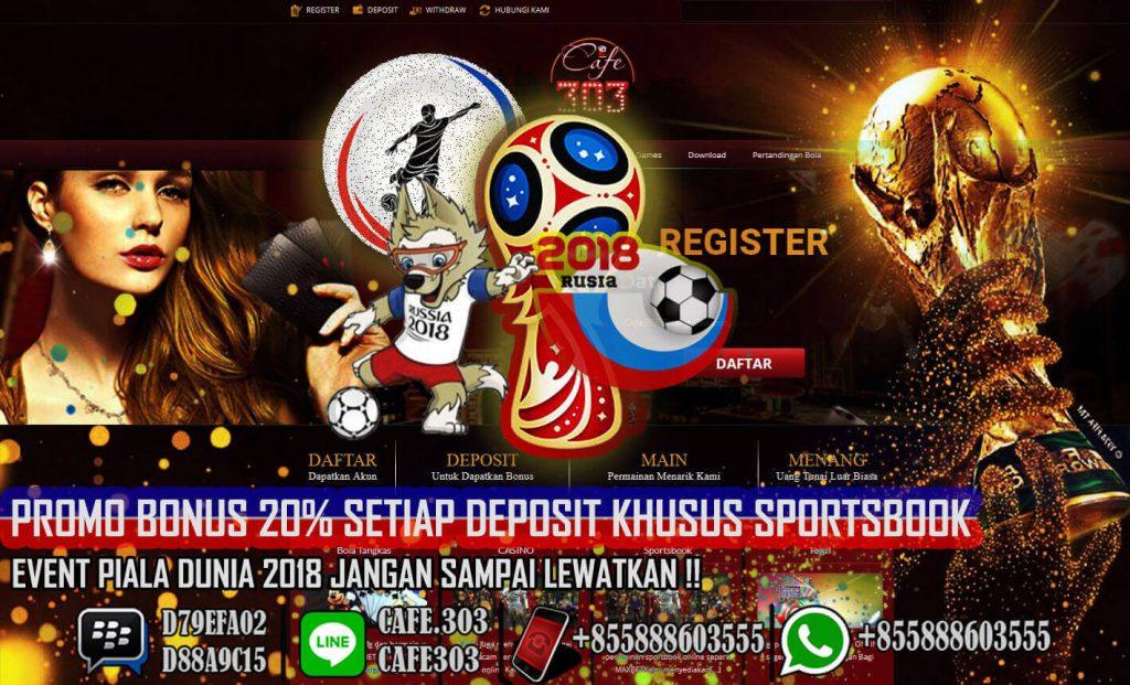 Sabung Ayam Promo Bonus Deposit 100% Cafe303me